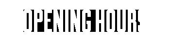 openeing hours mini
